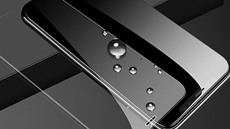 What is tempered glass screen protector made of?