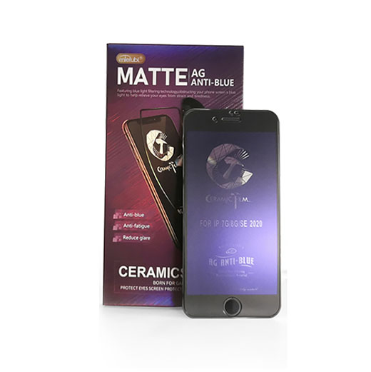 Anti blue-ray ceramic screen protector