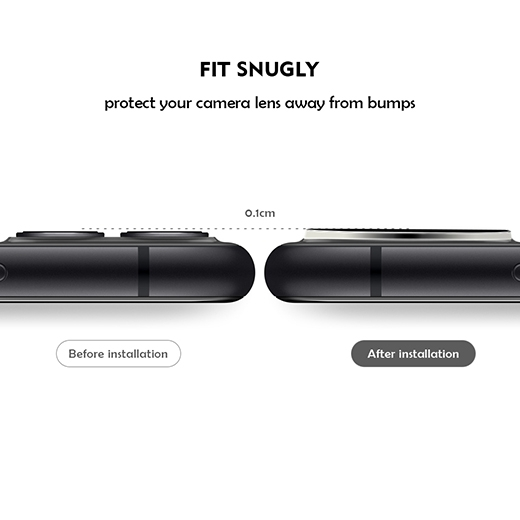 Invisible High quality cellphone camera protector