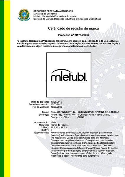 Mietubl Trademark