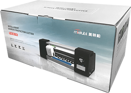 package of screen protector cutting machin