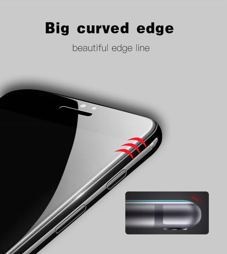 Super-D Shining Edge Tempered Glass Screen Protector