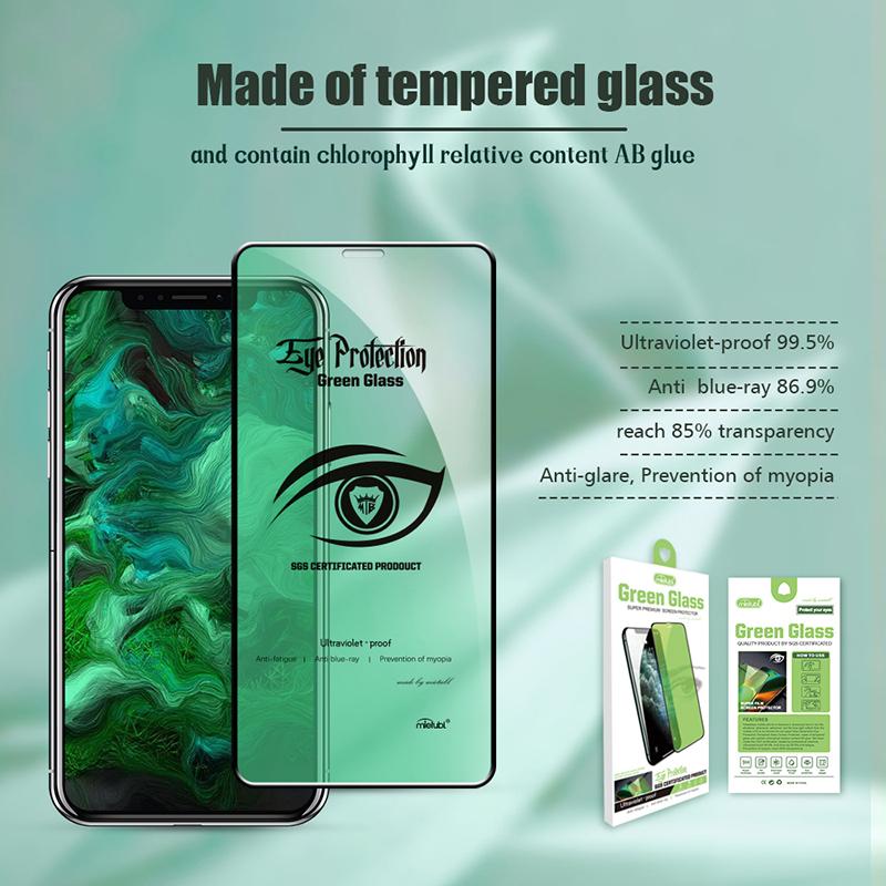 eye protection green screen protector